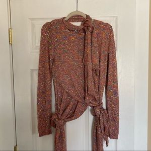 Nwot Loewe Knot knit top Sz small